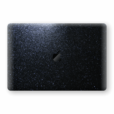 "MacBook Pro 13"" (No Touch Bar) Diamond Black Shimmering, Sparkling, Glitter Skin, Decal, Wrap, Protector, Cover by EasySkinz 