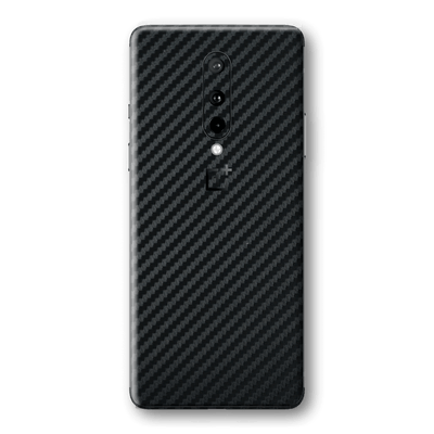 OnePlus 8 3D Textured Black Carbon Fibre Fiber Skin Wrap Sticker Decal Cover Protector by EasySkinz