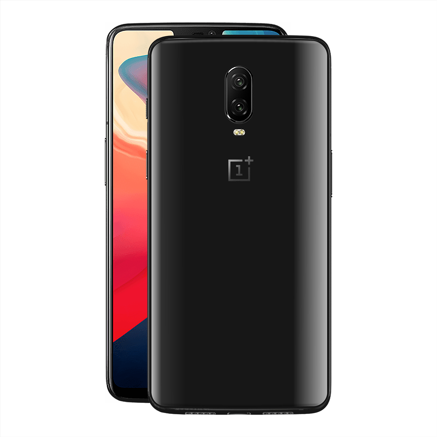OnePlus 6T Black Matt Skin, Decal, Wrap, Protector, Cover by EasySkinz | EasySkinz.com