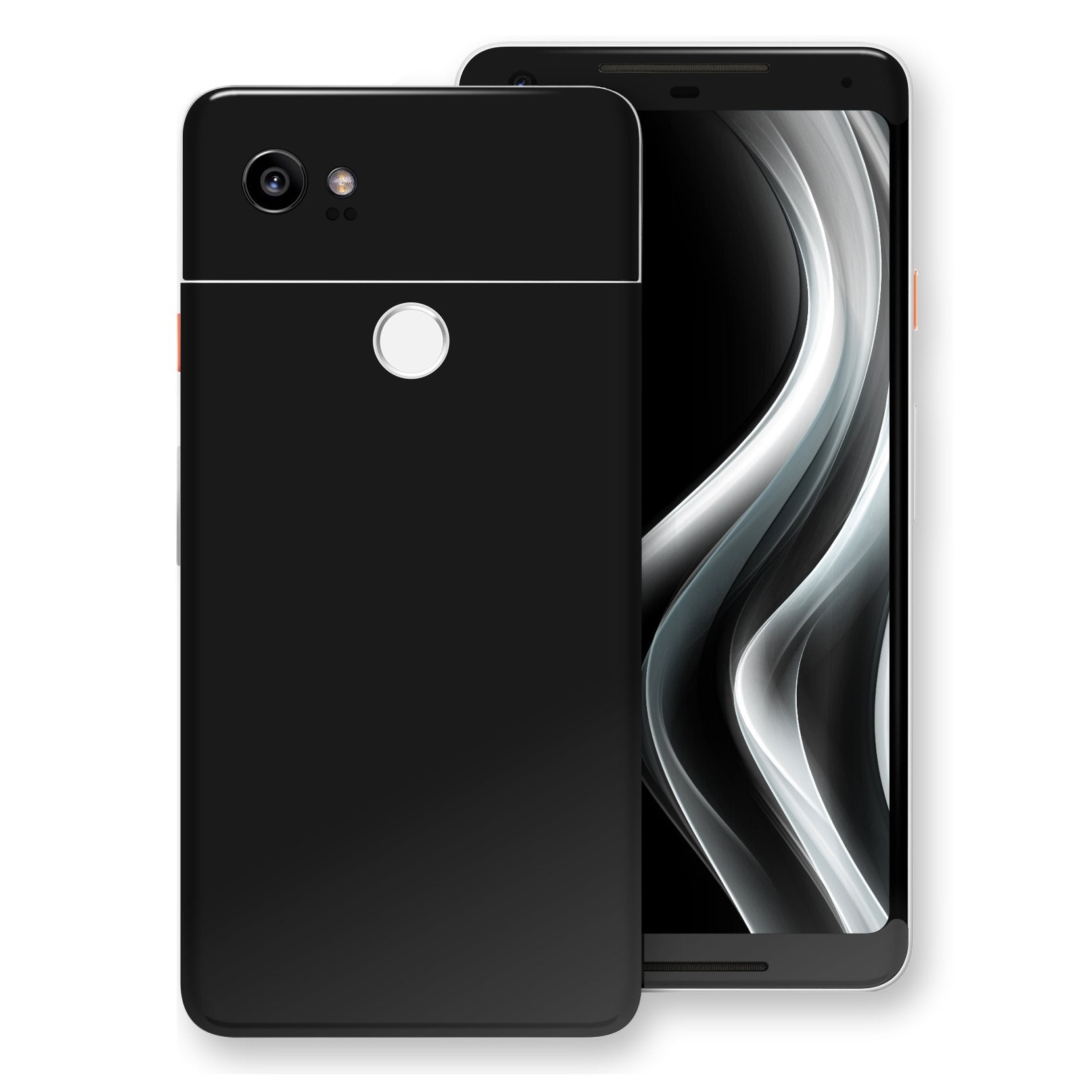 Google Pixel 2 XL Black Matt Skin, Decal, Wrap, Protector, Cover by EasySkinz | EasySkinz.com