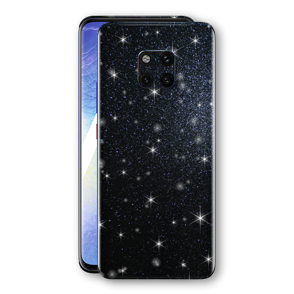 Huawei MATE 20 PRO Diamond Black Shimmering, Sparkling, Glitter Skin, Decal, Wrap, Protector, Cover by EasySkinz | EasySkinz.com