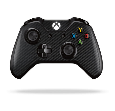 Xbox One Controller Black 3D Textured CARBON Fibre Fiber Skin Wrap Sticker Decal Protector Cover by EasySkinz
