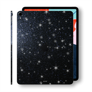 "iPad PRO 12.9"" inch 3rd Generation 2018 Diamond BLACK Skin Wrap Sticker Decal Cover Protector by EasySkinz"