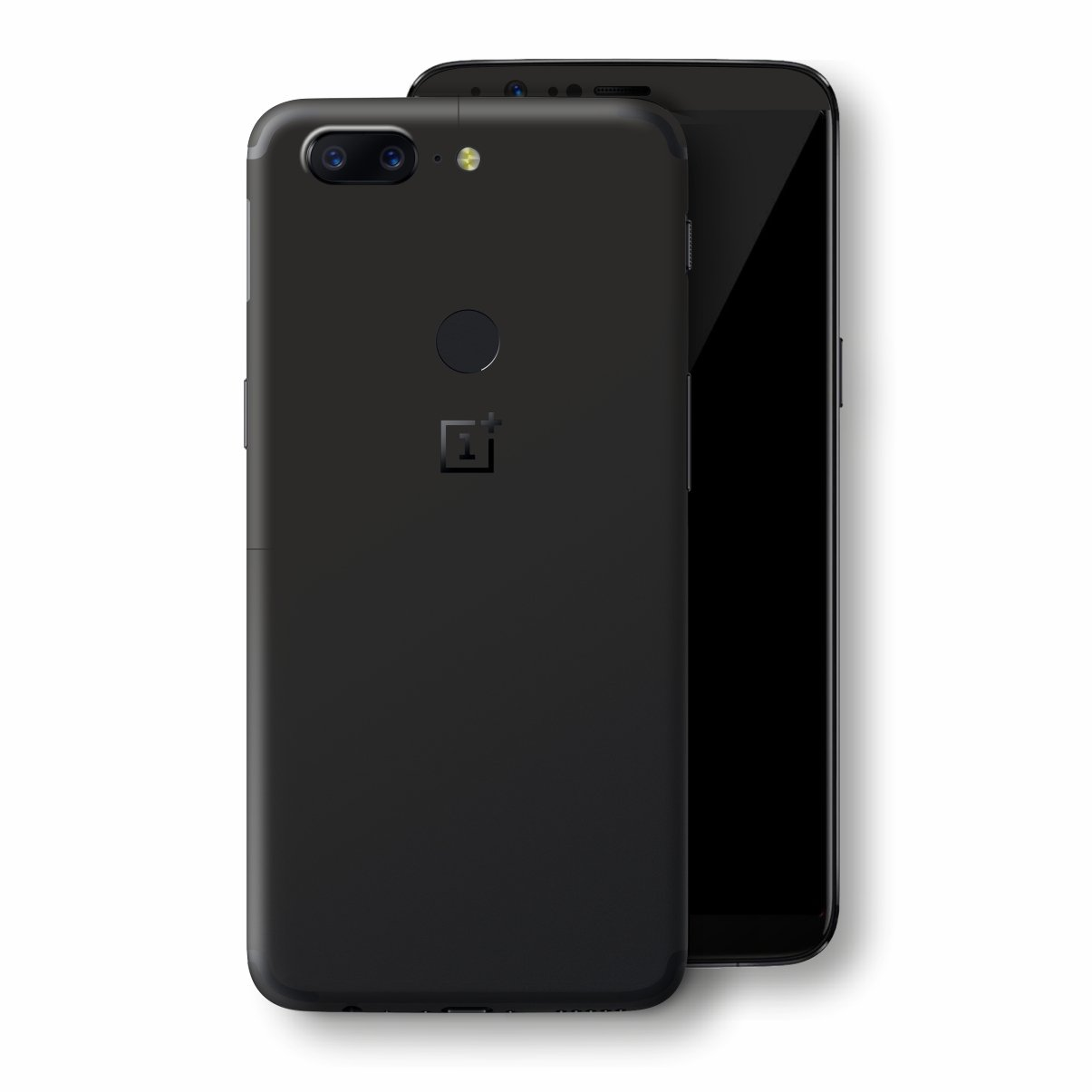 OnePlus 5T Black Matt Skin, Decal, Wrap, Protector, Cover by EasySkinz | EasySkinz.com