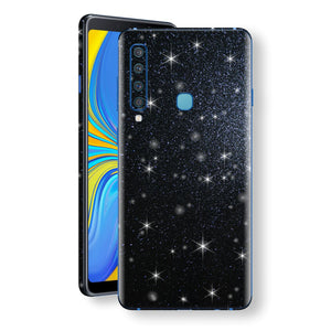 Samsung Galaxy A9 (2018) Diamond Black Shimmering, Sparkling, Glitter Skin, Decal, Wrap, Protector, Cover by EasySkinz | EasySkinz.com