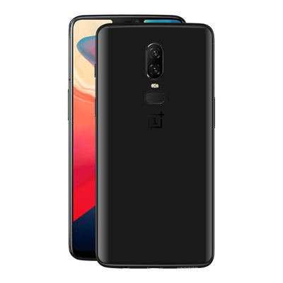 OnePlus 6 Black Matt Skin, Decal, Wrap, Protector, Cover by EasySkinz | EasySkinz.com