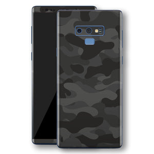 Samsung Galaxy NOTE 9 Print Custom Signature Camouflage Dark Slate Skin Wrap Decal by EasySkinz