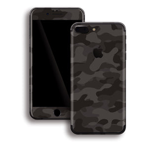 iPhone 7 PLUS Print Custom Signature DARK SLATE Camouflage Skin Wrap Decal by EasySkinz