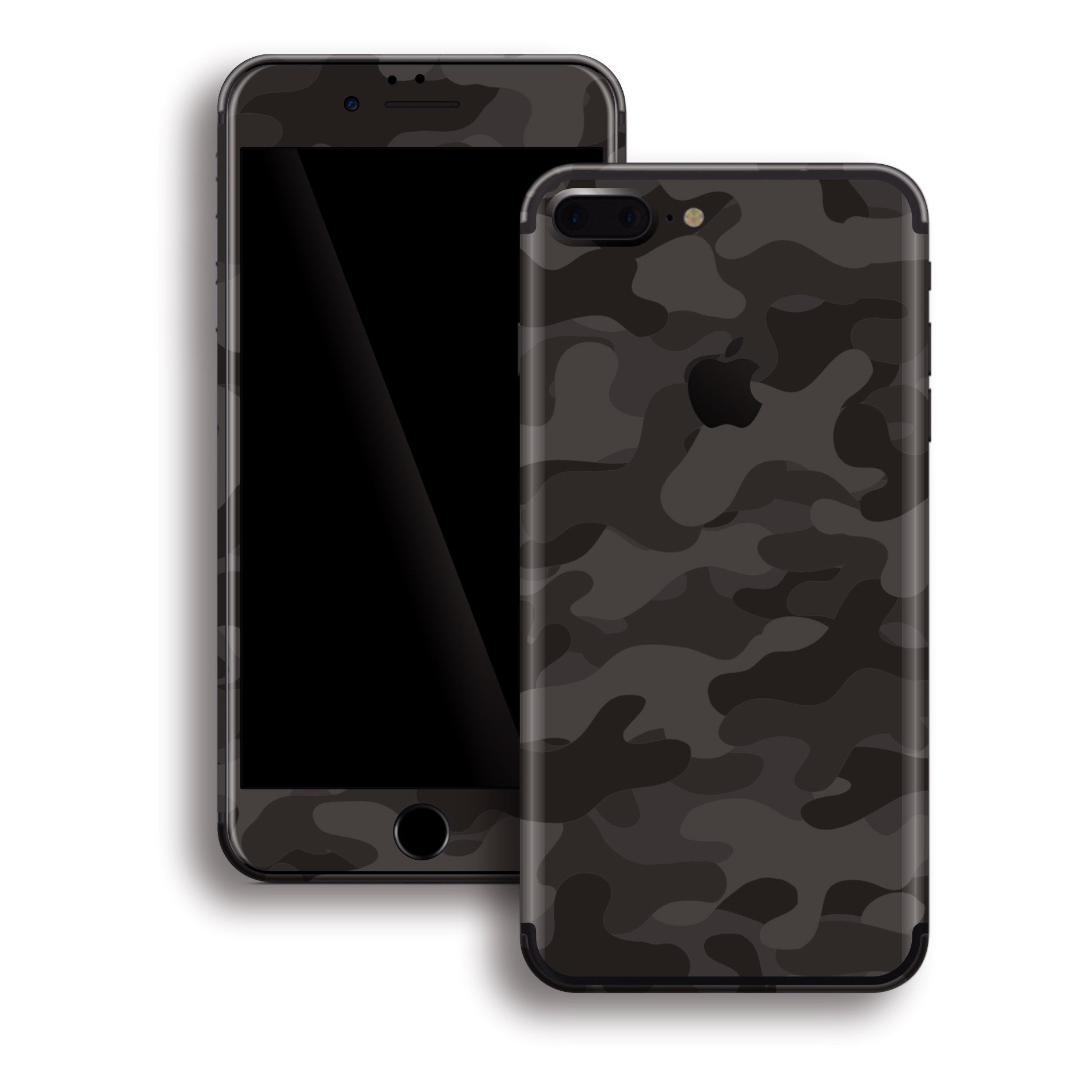iPhone 8 PLUS Print Custom Signature DARK SLATE Camouflage Skin Wrap Decal by EasySkinz