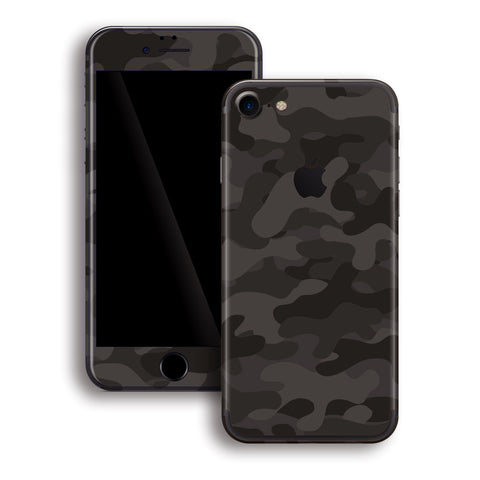 iPhone 8 Print Custom Signature DARK SLATE Camouflage Skin Wrap Decal by EasySkinz