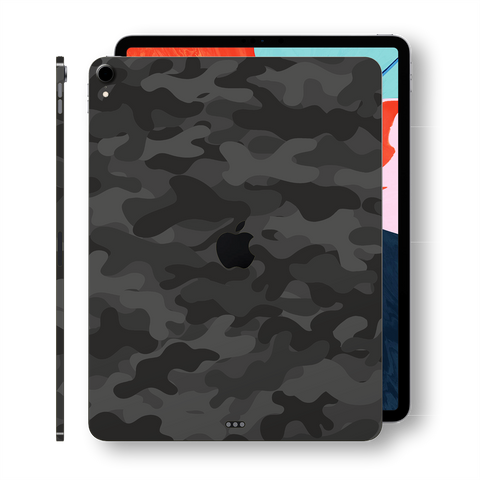 iPad Pro 12.9 inch 3rd Generation 2018 Signature Dark Slate Camo Camouflage Printed Skin Wrap Decal Protector | EasySkinz