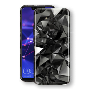Huawei MATE 20 LITE Print Custom Signature Black Crystals Crystal Skin Wrap Decal by EasySkinz