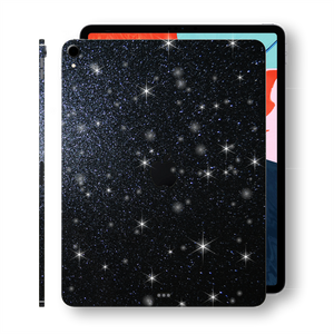"iPad PRO 12.9"" 3rd Generation 2018 Diamond BLACK Skin Wrap Sticker Decal Cover Protector by EasySkinz"