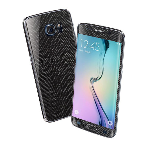 Samsung Galaxy S6 EDGE BLACK MAMBA SNAKE Skin Wrap Sticker Cover Protector Decal by EasySkinz