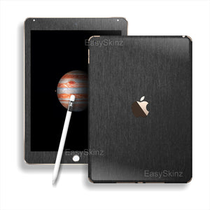 iPad PRO 3M Brushed Black Metallic Skin Wrap Sticker Decal Cover Protector by EasySkinz