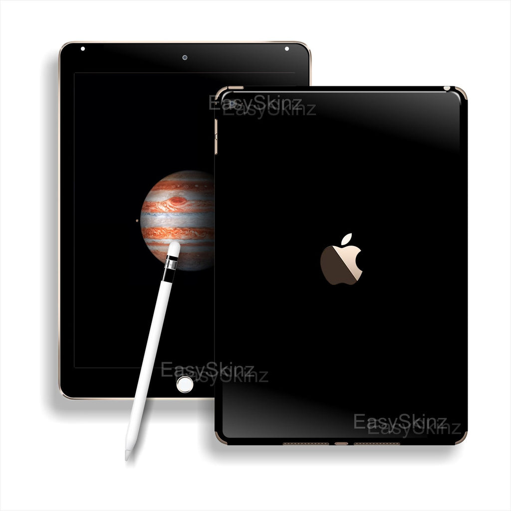 iPad PRO Glossy Black Skin Wrap Sticker Decal Cover Protector by EasySkinz