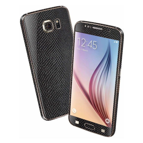 Samsung Galaxy S6 BLACK MAMBA SNAKE Skin Wrap Sticker Cover Protector Decal by EasySkinz