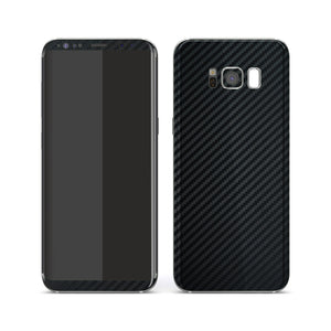 Samsung Galaxy S8+ 3D Textured Black Carbon Fibre Fiber Skin, Decal, Wrap, Protector, Cover by EasySkinz | EasySkinz.com