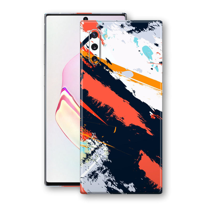 Samsung Galaxy NOTE 10 Print Custom Signature Abstract Paitning 4 Skin Wrap Decal by EasySkinz - Design 4