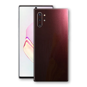 Samsung Galaxy NOTE 10+ PLUS Black Rose Glossy Metallic Skin, Decal, Wrap, Protector, Cover by EasySkinz | EasySkinz.com