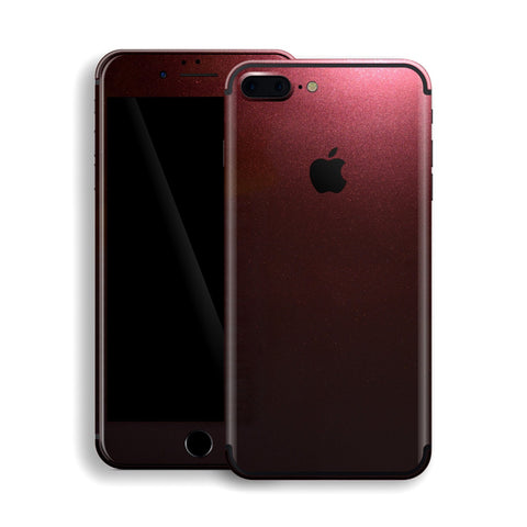 iPhone 7 Plus Black Rose Glossy Metallic Skin, Decal, Wrap, Protector, Cover by EasySkinz | EasySkinz.com