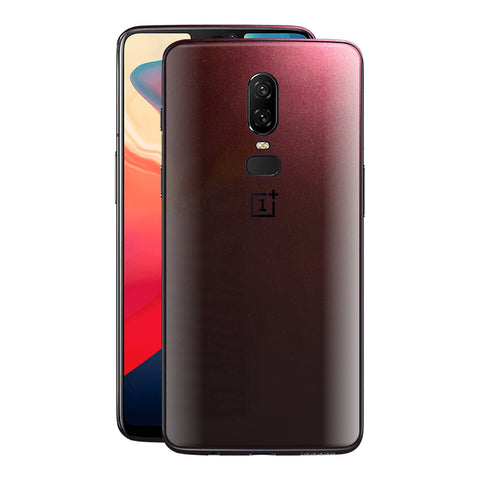 OnePlus 6 Black Rose Glossy Metallic Skin, Decal, Wrap, Protector, Cover by EasySkinz | EasySkinz.com