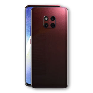 Huawei MATE 20 PRO Black Rose Glossy Metallic Skin, Decal, Wrap, Protector, Cover by EasySkinz | EasySkinz.com