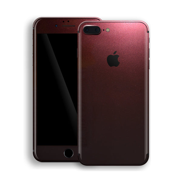iPhone 8 Plus Black Rose Glossy Metallic Skin, Decal, Wrap, Protector, Cover by EasySkinz | EasySkinz.com