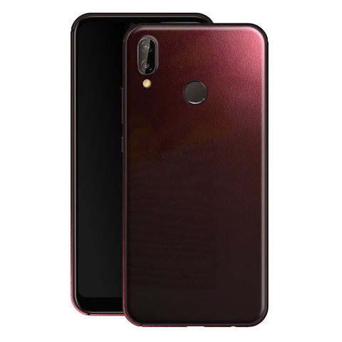 Huawei P20 LITE Black Rose Glossy Metallic Skin, Decal, Wrap, Protector, Cover by EasySkinz | EasySkinz.com