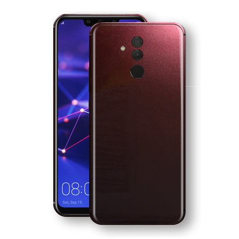 Huawei MATE 20 LITE Black Rose Glossy Metallic Skin, Decal, Wrap, Protector, Cover by EasySkinz | EasySkinz.com