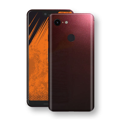 Google Pixel 3 XL Black Rose Glossy Metallic Skin, Decal, Wrap, Protector, Cover by EasySkinz | EasySkinz.com