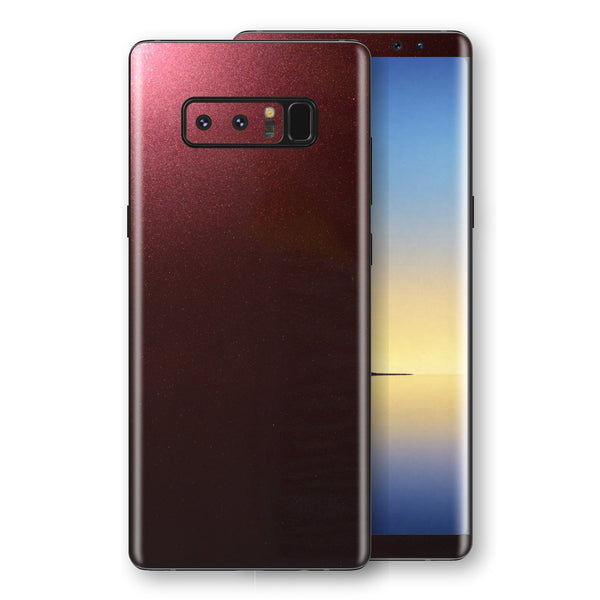 Samsung Galaxy NOTE 8 Black Rose Glossy Metallic Skin, Decal, Wrap, Protector, Cover by EasySkinz | EasySkinz.com