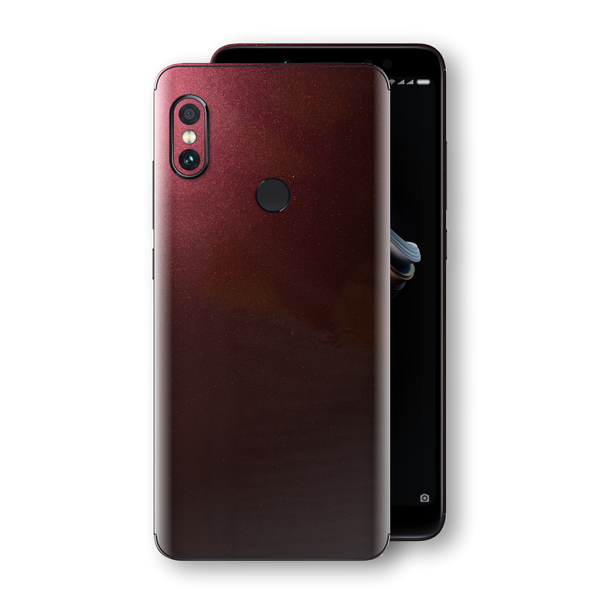 XIAOMI Redmi NOTE 5 Black Rose Glossy Metallic Skin, Decal, Wrap, Protector, Cover by EasySkinz | EasySkinz.com