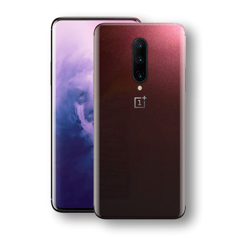OnePlus 7 PRO Black Rose Glossy Metallic Skin, Decal, Wrap, Protector, Cover by EasySkinz | EasySkinz.com