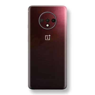 OnePlus 7T Black Rose Glossy Metallic Skin, Decal, Wrap, Protector, Cover by EasySkinz | EasySkinz.com