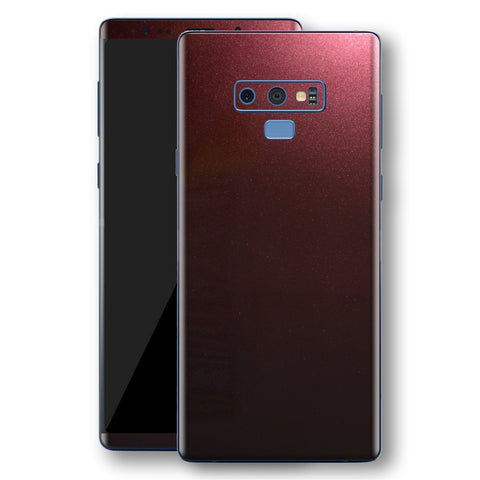 Samsung Galaxy NOTE 9 Black Rose Glossy Metallic Skin, Decal, Wrap, Protector, Cover by EasySkinz | EasySkinz.com