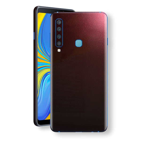 Samsung Galaxy A9 (2018) Black Rose Glossy Metallic Skin, Decal, Wrap, Protector, Cover by EasySkinz | EasySkinz.com