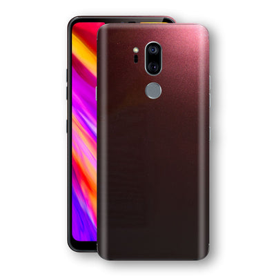 LG G7 ThinQ Black Rose Glossy Metallic Skin, Decal, Wrap, Protector, Cover by EasySkinz | EasySkinz.com