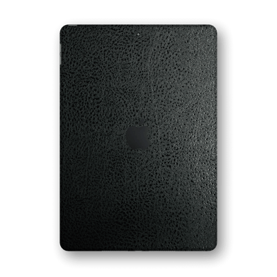 "iPad 10.2"" (8th Gen, 2020) Luxuria Black Leather Skin Wrap Sticker Decal Cover Protector by EasySkinz"