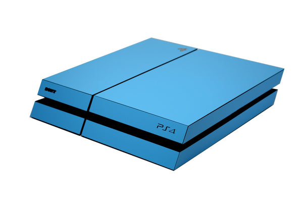 ps4 blue matt skin