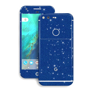Google Pixel Diamond Blue Skin Wrap Decal by EasySkinz