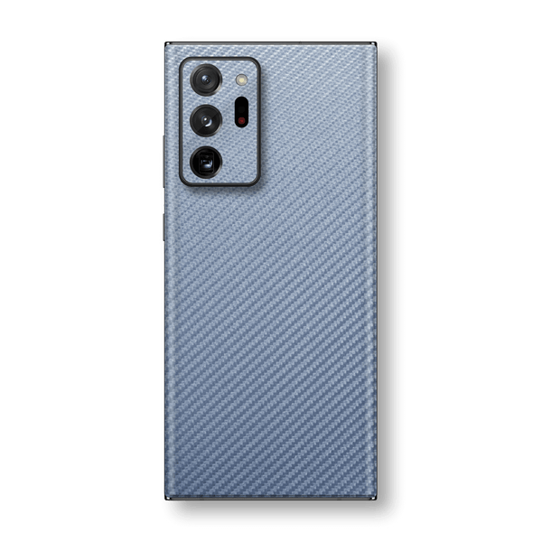 Samsung Galaxy NOTE 20 ULTRA 3D Textured Arctic Blue Carbon Fibre Fiber Skin Wrap Sticker Decal Cover Protector by EasySkinz