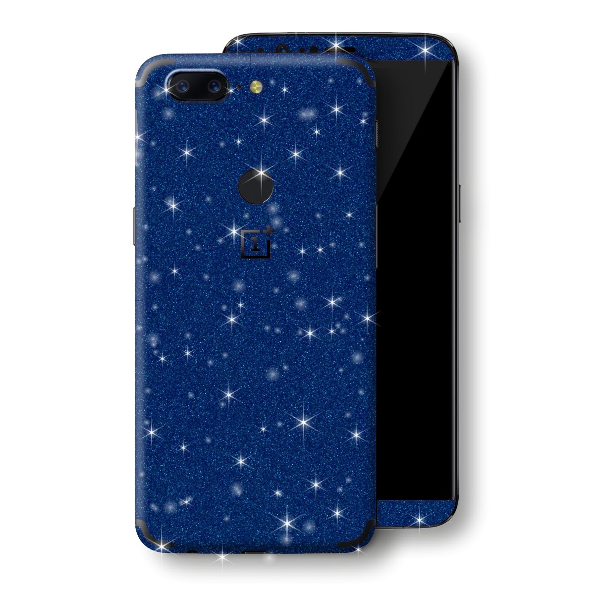 OnePlus 5T Diamond Blue Shimmering, Sparkling, Glitter Skin, Decal, Wrap, Protector, Cover by EasySkinz | EasySkinz.com