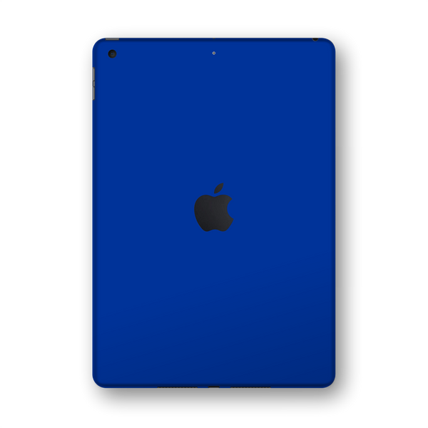 "iPad 10.2"" (7th Gen, 2019) Glossy Royal Blue Skin Wrap Sticker Decal Cover Protector by EasySkinz"