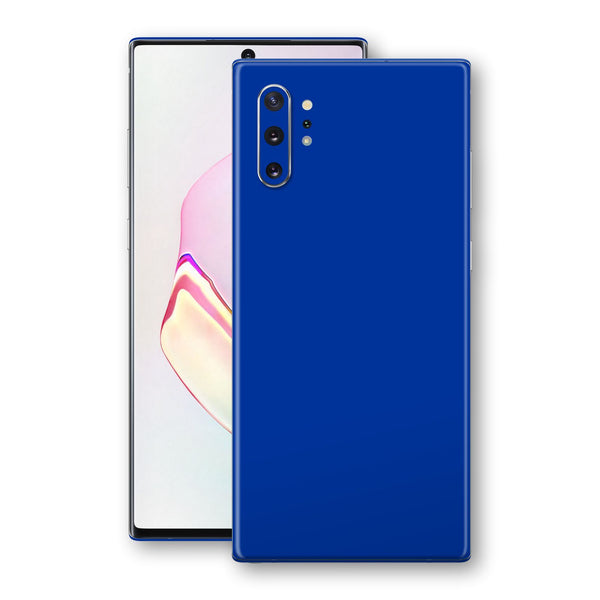 Samsung Galaxy NOTE 10+ PLUS Royal Blue Glossy Gloss Finish Skin, Decal, Wrap, Protector, Cover by EasySkinz | EasySkinz.com