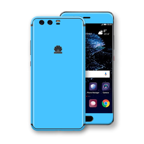 Huawei P10  Blue Matt Skin, Decal, Wrap, Protector, Cover by EasySkinz | EasySkinz.com