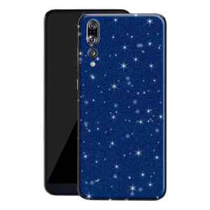 Huawei P20 PRO Diamond Blue Shimmering, Sparkling, Glitter Skin, Decal, Wrap, Protector, Cover by EasySkinz | EasySkinz.com