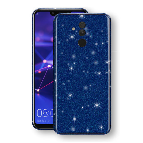 Huawei MATE 20 LITE Diamond Blue Shimmering, Sparkling, Glitter Skin, Decal, Wrap, Protector, Cover by EasySkinz | EasySkinz.com