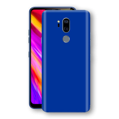 LG G7 ThinQ Royal Blue Glossy Gloss Finish Skin, Decal, Wrap, Protector, Cover by EasySkinz | EasySkinz.com