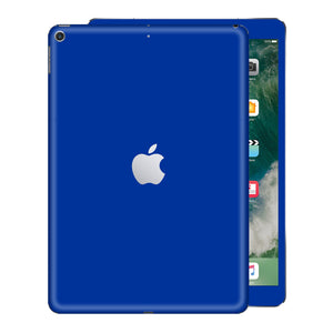 iPad 9.7 inch 2017 Glossy Royal Blue Skin Wrap Sticker Decal Cover Protector by EasySkinz